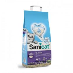 Nisip pentru litiera Sanicat Classic Lavanda 10 L
