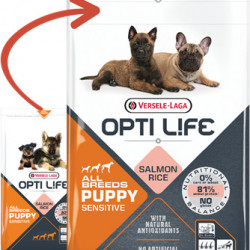 Opti Life Puppy Sensitive All Breads 12,5 kg