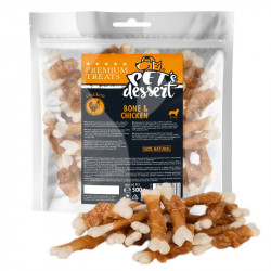 PET'S DESSERT LSC-53 BONE & CHICKEN - PUNGA 500 Gr