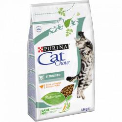 Purina Cat Chow Sterilised cu Pui 1,5 kg