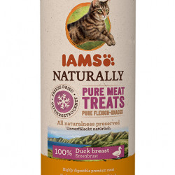 Recompensa pisici IAMS Cat Freeze Dried cu Rata