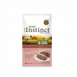 True Instinct No Grain Dog Mini Pate vită 150 gr
