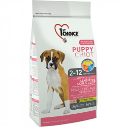 1ST CHOICE DOG PUPPY ALL BREEDS SENSITIVE SKIN&COAT 2.72 KG