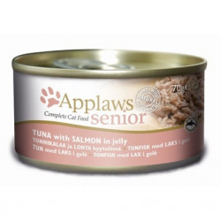 Applaws CAT Senior ton și somon în aspic 70 gr