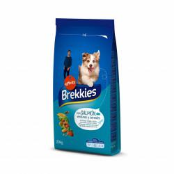 Brekkies Dog cu somon, legume și cereale