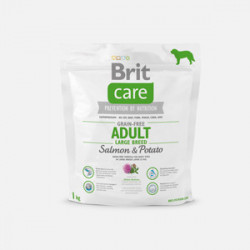 Brit Care Grain Free Adult Large Breed Somon 1 kg
