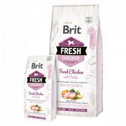 Brit Fresh Puppy cu pui și cartofi 12 Kg