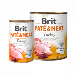 Brit Pate and Meat Curcan 800 gr + 400 gr