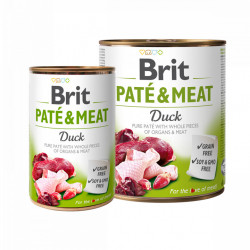 Brit Pate and Meat Rață 800 gr + 400 gr