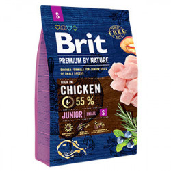 Brit Premium by Nature Junior S cu pui 3 Kg