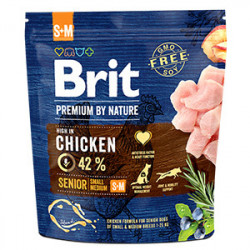 Brit Premium by Nature Senior S & M cu pui 1 Kg