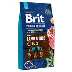 Brit Premium by Nature Sensitive Miel și Orez 8 kg