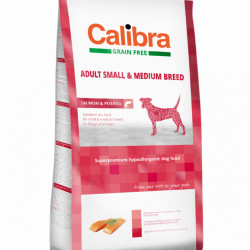 Calibra Dog Adult Small & Medium cu somon