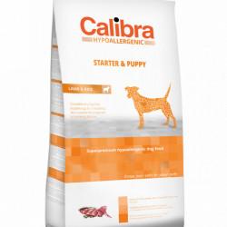 Calibra Dog Starter&Puppy cu miel și orez