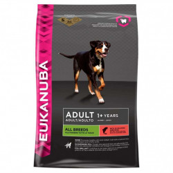 EUKANUBA ADULT ALL BREEDS CU SOMON 2.5 KG