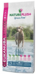 EUKANUBA NATUREPLUS+ GRAIN FREE PUPPY & JUNIOR SOMON - SAC 2.3 KG