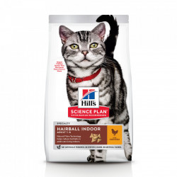Hill's SP Feline Adult Hairball Indoor Pui 10 kg