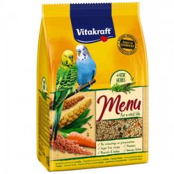 Hrana pentru perusi Vitakraft Premium Meniu 500 Gr