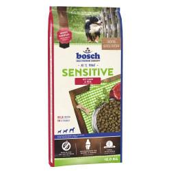 Hrana uscata caini Bosch Sensitive cu miel si orez