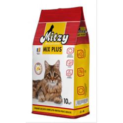 Hrana uscata pisici Mitzy Mix Plus 10 kg