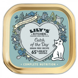 Lily's Kitchen Cat Adult Catch of the Day 85 g