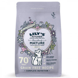 Lily's Kitchen Cat Senior Marvelously Fish 800 g