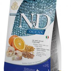 N&D Ocean Cat cu cod și portocală