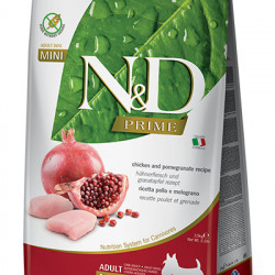 N&D Prime Dog Mini Adult Pui și Rodie 2.5 kg