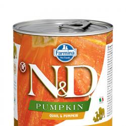 N&D Pumpkin cu prepelița și rodie 285 gr