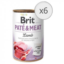 Pachet Economic Brit Pate and Meat Miel 6 x 800 gr