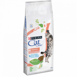 Purina Cat Chow Sensitive cu Somon 15 kg