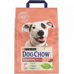 Purina Dog Chow Sensitive Adult cu Somon 2.5 kg