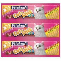 Recompensa pentru pisici Vitakraft Cat Stick Pasare/Ficat 18G