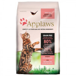 Applaws CAT cu pui și somon 7.5 Kg