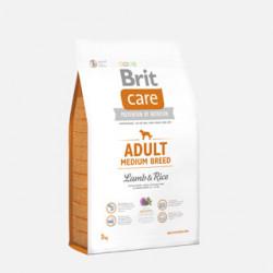 Brit Care Adult Medium Breed Miel și Orez 3 kg