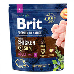 Brit Premium by Nature Adult S cu pui 1 Kg