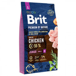 Brit Premium by Nature Junior S cu pui 8 Kg