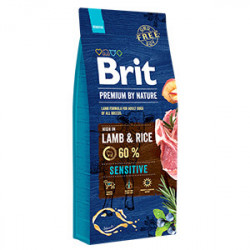 Brit Premium by Nature Sensitive Miel și Orez 15 kg