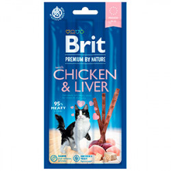 Brit Premium Cat Sticks Chicken and Liver (3 sticks)