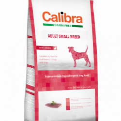 Calibra Dog Adult Small Breed cu rața