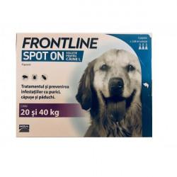 Frontline Spot On L (20 - 40 kg) - cutie cu 3 pipete