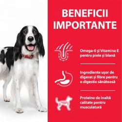 HILL'S SCIENCE PLAN ADULT hrană pentru câini cu vită 370 g (conservă)