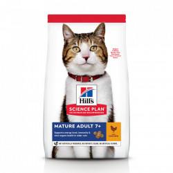 Hill's SP Feline Mature cu Pui 1.5 kg