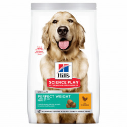 HILL'S SP Canine Adult Perfect Weight Large Breed cu pui 12 kg