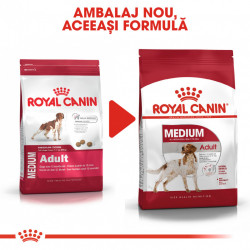 Hrana uscata caini ROYAL CANIN Medium Adult ambalaj nou
