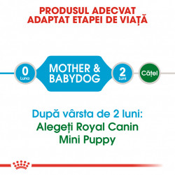 Hrana uscata caini ROYAL CANIN Mini Starter Mother & Babydog Produsul Adeptat Etapei de Viata