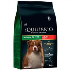 Hrana Uscata Equlibrio Adult Dog Medium Breed 15 kg