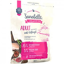 Hrana uscata pentru pisici Sanabelle Adult Pui 400 g