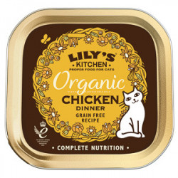 Lily's Kitchen Cat Adult Organic Chicken Dinner 85 g