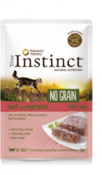 True Instinct No Grain Cat Pate cu vită proaspătă 70 gr